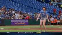 Carly Rae Jepsen First Pitch Fail - Carly Rae Jepsen Pitching