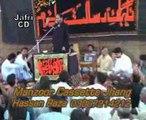 Zakir Muqbool Hussain Dhako  majlis Jalsa 2013 Ashfaq Jeo at Shah shamas Multan