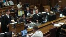 Pistorius trial: Oscar Pistorius throws up in court