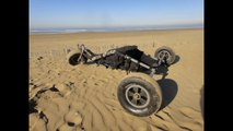 construction buggy  traction cerf-volant 2014
