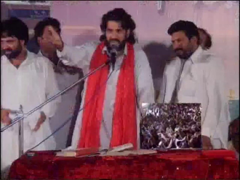 Zakir Ejaz Hussain jhandvi qasida maere Hussain ka hae at jashan 3 shiban 2013 multan