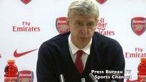 Arsene Wenger reaction Arsenal vs Everton FA Cup