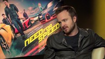 Need For Speed - Exclusive Interview With Aaron Paul, Dominic Cooper & Scott Waugh