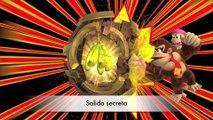 Donkey Kong Country: TF. Energía hieléctrica 6-7 - Gameplay - 100% puzzles,letras y salida secreta