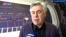 "Document RMC Sport / Ancelotti : ""Zidane sera un très grand entraîneur"" 11/03"
