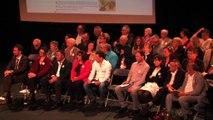 Reportage Maritima.info sur la présentation de la liste Istres-Entressen à Gauche le 10/03/2014