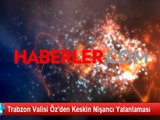 Trabzon Valisi Öz'den Keskin Nişancı Yalanlaması