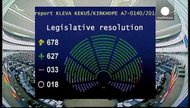 Eurodiputados contra el blanqueo de capitales