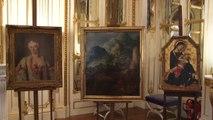 La cérémonie de restitution de 3 tableaux volés par les nazis