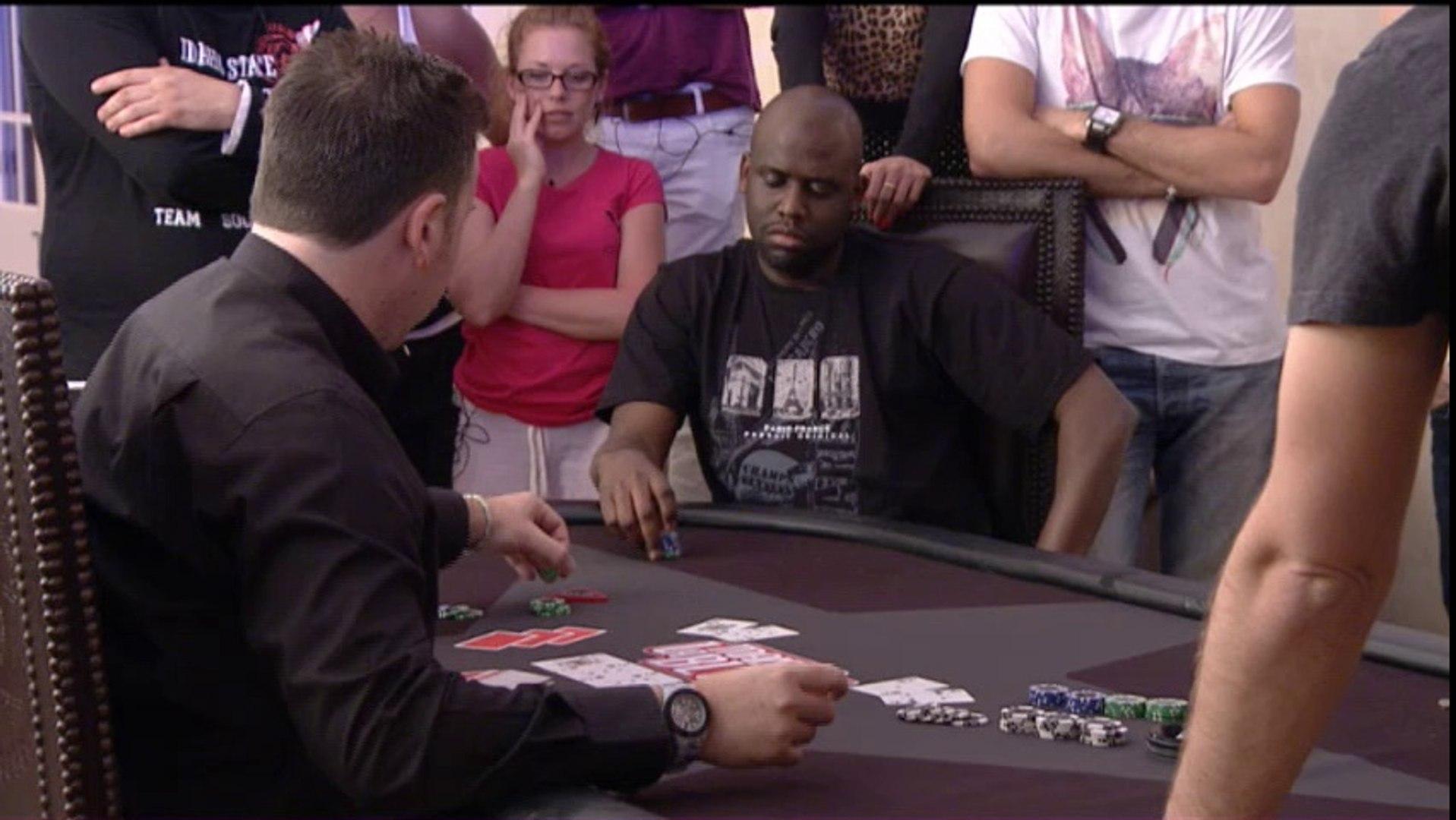 Zapping poker Audrey VS Abou - La Maison du Bluf 4