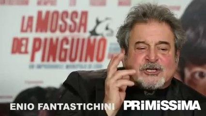 Intervista a Claudio Amendola Francesca Inaudi ed Ennio Fantastichini di La mossa del pinguino