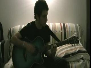 The dark side of my guitar