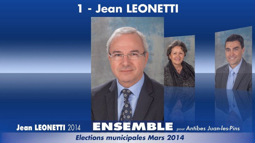 """Ma liste en vidéo : """"Ensemble pour Antibes Juan-les-Pins"""""""
