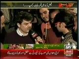 Khara Sach With Mubashir Lucman 11th March 2014 Faisalabad Thar Relief Camp.!!