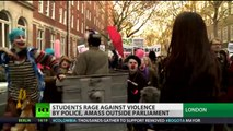 'Cops Off Campus!' London students rage against police violence