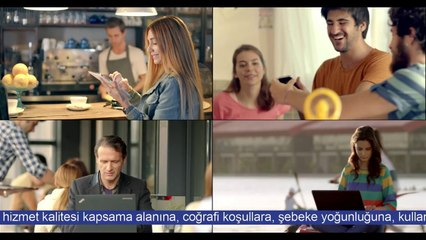 A tipi 3G lisansı, sadece Turkcell'de!