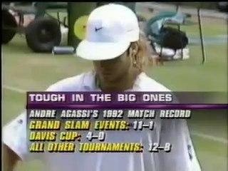 Wimbledon 1992 Final - Andre Agassi vs Goran Ivanisevic FULL MATCH