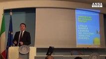 Renzi presenta il suo piano da 10 mld