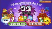 Moshi Monsters Secret Codes for 2,000 Rox 2014