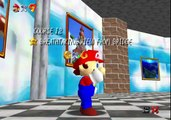Super Mario 64 speed run TAS 70 Stars in 42:58:52 !!!