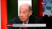 Charles Pasqua a du mal à croire que Manuel Valls n'ait pas été mis au courant des écoutes de Sarkozy