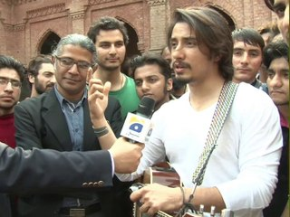 Ali Zafar in Capital Talk (Part 3)