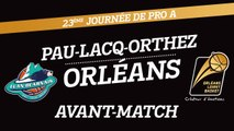 Avant-Match - J23 - Orléans se déplace à Pau-Lacq-Orthez
