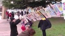 """"""" La grande lessive """", une journée pour exprimer vas talents artistiques en A4 le 27 mars, à Carcassonne et partout dans le monde."""