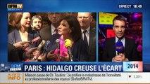 BFM Story: Élections municipales de 2014 à Paris: Anne Hidalgo creuse l'écart avec Nathalie Kosciusko-Morizet, selon un sondage CSA - 13/03