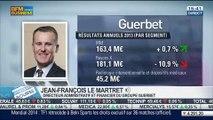 Guerbet: résultats annuels 2013: Jean-François Le Martret, dans Intégrale Bourse - 13/03