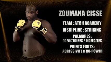 100%FIGHT 20 - REPORTAGE ZOUMANA CISSE