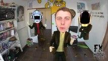 Norman danse sur Daft Punk