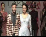 LFW Maryam Zakaria sizzles in silver gown