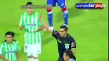 Espulso dopo 24 secondi dal fischio d'inizio, record in Copa Libertadores
