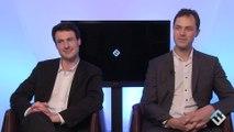 Thibault Hanin et Loïc Moisand, co-fondateurs de Synthesio