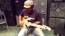 WOW - Victor Wooten Vigorously Tests the Wooten Woods Camp Bass from Rybski