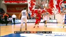 CSKA Moscú 84 - 52 Partizan de Belgrado
