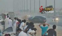 Scary Drift Crash In Saudi Arabia