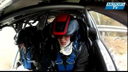 2012 WRC Rally de España - Ott Tanak SS16 Crash