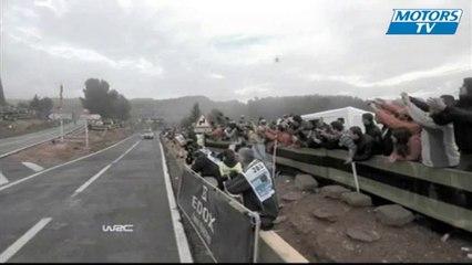 2012 WRC Rally de Espana - Mads Ostberg Crashes Twice on SS8