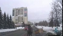 Russian Sleigh Ride Gone Wrong - Only In Russia Sleigh Riding