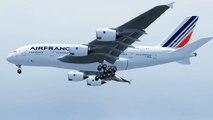 FSX Air France Airbus A380 Landing @ Miami RWY 08R ( HD )