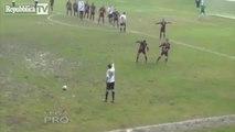 Most Unbelievable Goal Ever  In Italian Calcio (Football)