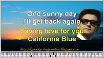 Roy Orbison-California blue karaoke song online free with lirycs on the screen