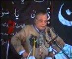 Allama Talib johri majlis at Lahore