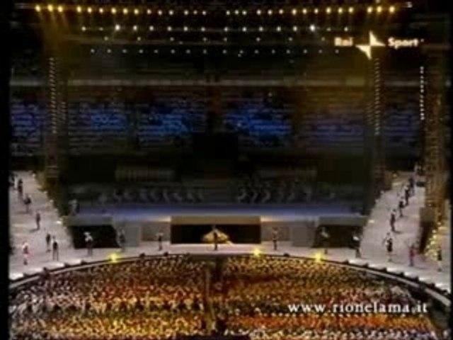Sbandieratori, Olimpiadi Torino 2006