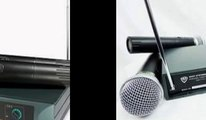 Nady DKW DUO HT-B-D VHF Dual Receiver Handheld Microphone System
