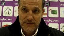 Rugby Pro D2 - Christophe Niogret réagit après USB - La Rochelle