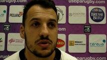Rugby Pro D2 - Julien Audy réagit après USB - La Rochelle