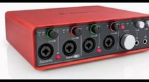 Focusrite Scarlett 2i4 USB Audio Interface Review - video